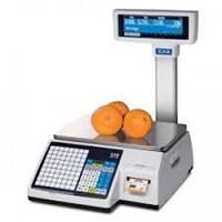 Timbangan Printer Label CAS CL-5200 15kg 30kg Murah Bergaransi 2thn