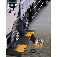 Timbangan Truk Portable CAS RWP RW-2601P 15Ton Mur
