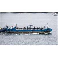 Bunker push barge Double hull tahun 2007
