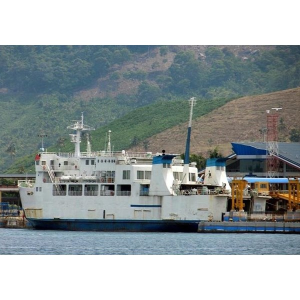 Perahu dan Sampan PASSENGER CAR FERRY BUILD JAPAN PGA-MSMW
