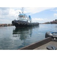 Perahu dan Sampan Tug Boat 2 x 525 HP Build 2014 P