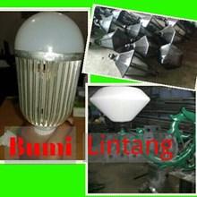 Tiang PJU Solar Cell Mini Decoratif
