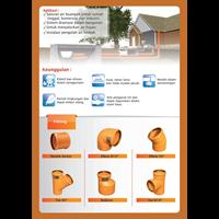 Distributor Pipa Air Limbah PVC Merk Vinilon ND. 90 mm Uk. 3