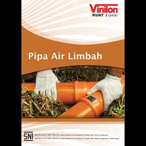 Pipa Air Limbah PVC Merk Vinilon ND. 90 mm Uk. 3