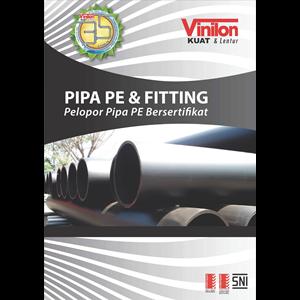 Dari Pipa HDPE UK. PN 10  dan PN. 8 Merk Vinilon 0