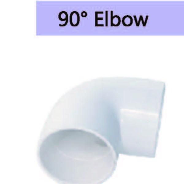 90º Elbow PVC Conduit Merk Lesso