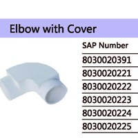 Elbow With Cover PVC Conduit Merk Lesso