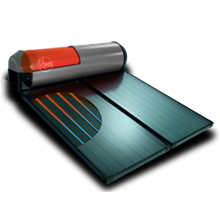 Water Heater Solar Direct VE Merk Rheem