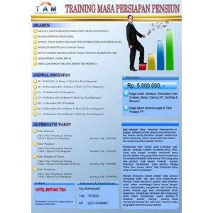 Training MPP By PT   Tunas Asa Mandiri