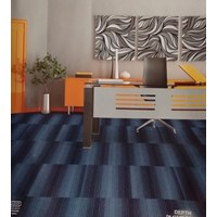 Karpet Tile Depth D6-474 Nile Blue