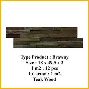 Wood Wall Panel  3D Brawny