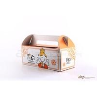 Jual Kardus Kemasan Kue (Ivory Model Jinjing)