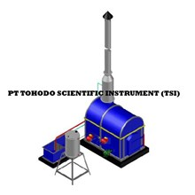 Jual Mesin Incinerator  CAP INCINERATOR 0 35 m3 batch 15kg