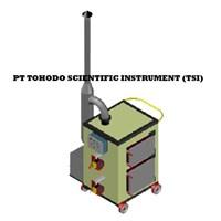 Jual Mesin Incinerator CAP INCINERATOR PORTABEL. 008 m3 batch Double Burner dengan Scrubber 3 kg 1