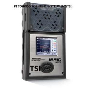 Jual IBRID MX-6 Portable Multi Gas Detector LEL O2 CO H2S