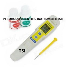 Jual PH Meter-PH Meter DELUXE with Thermometer