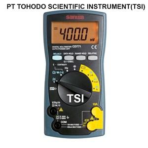 Jual Multimeter-Digital Multimeter Sanwa CD771 (Standard Type)