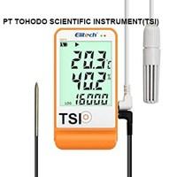 Jual Termometer Ruangan-Humidity & Temperature Data Logger Elitech GSP-6 1