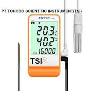 Jual Termometer Ruangan-Humidity & Temperature Data Logger Elitech GSP-6