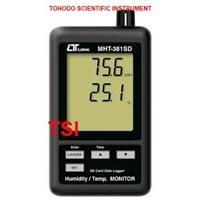 Jual Jual Termometer Ruangan-Humidity Temperature Monitor Lutron MHT381SD
