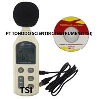 Jual Alat Uji Volume Suara-Sound Level Meter Data Logger Benetech GM1356 1