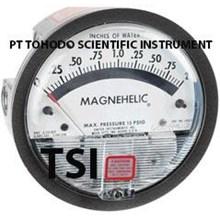 Surabaya Jual Alat Ukur Tekanan Gas-2002 Magnehelic® Differential Pressure Gage 0-2.0