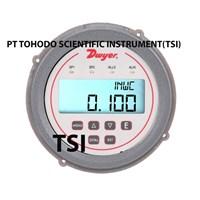 Surabaya  Alat Ukur Tekanan Gas DH3 004 Differential Pressure Controller range 0-1w.c.