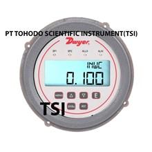 Surabaya Jual Alat Ukur Tekanan Gas DH3 004 Differential Pressure Controller range 0-1w.c.
