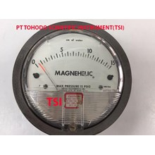 Surabaya Jual Alat Ukur Tekanan Gas-Magnehelic Differential Pressure Gage - Series 2000-15CM