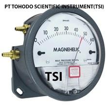 Surabaya Jual Alat Ukur Tekanan Gas-Magnehelic Differential Pressure Gage - Series 2000-60PA  Specification: