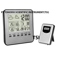 Surabaya  Termometer Ruangan- Wireless Weather Station VHC WWSVHC