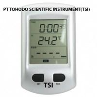 Surabaya  Termometer Ruangan-Wireless Rain Gauge With Temperature  and 2.7 LCD WRG