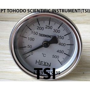 Dari Surabaya  Bimetallic Thermometer - Bimetal Thermometer 0 - 500 Celcius BT10 0