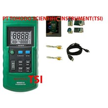Thermometer with Data Logging Mastech MS6514