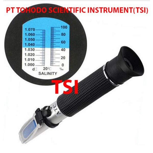 Surabaya  Refractometer Salt Salinity 0-100%