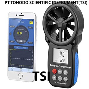 From Anemometer With Mobile App Android IOS HoldPeak HP-866B-APP 0