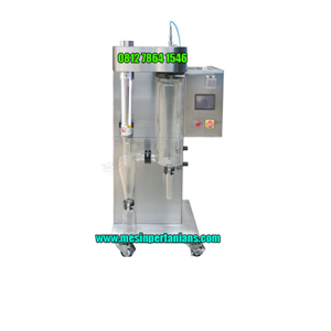 From Spray Dryer Lab Scale 1 koma 5 sampai 2 L perh 0