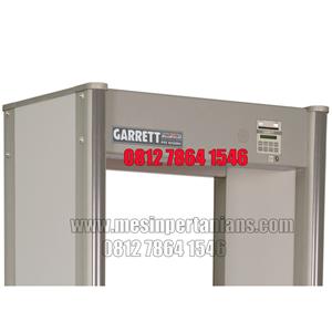 From Garrett PD 6500i Enhanced Pinpoint Walk-Through Metal Detector Gate 2
