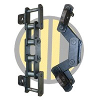 Asphalt Finisher Chain HR Pitch 78 Roller Or Bushed