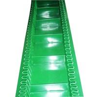 Beli PVC Belt conveyor Roughtop - profile pvc conveyor Sprocket Conveyor 4