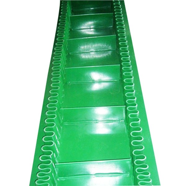 PVC Belt conveyor Roughtop - profile pvc conveyor Sprocket Conveyor