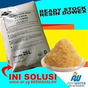 Resin Kation Dowex - Ady Water