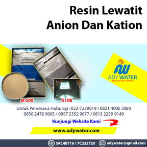 Resin Kation Filter - Ady Water