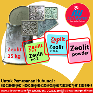 Pasir Zeolit Jakarta - Ady Water