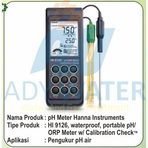 Hanna Instruments Ph Meter Indonesia - Ady Water