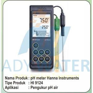 Ph Meter Air Surabaya - Ady Water