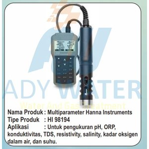 Dari Ph Meter Hanna Surabaya - Ady Water 0