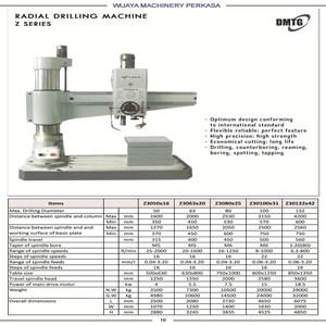Radial Drilling Machine DMTG Z Series