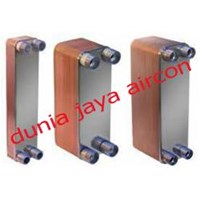 Jual brazed plate heat exchanger