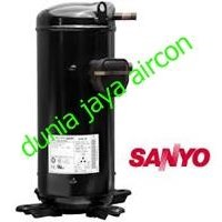 kompressor sanyo tipe CSC753H8J 1